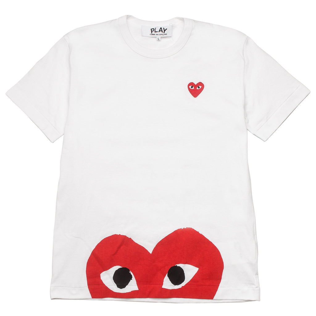 BOTTOM HEART EYE AZ-T034-051-1 Tee White