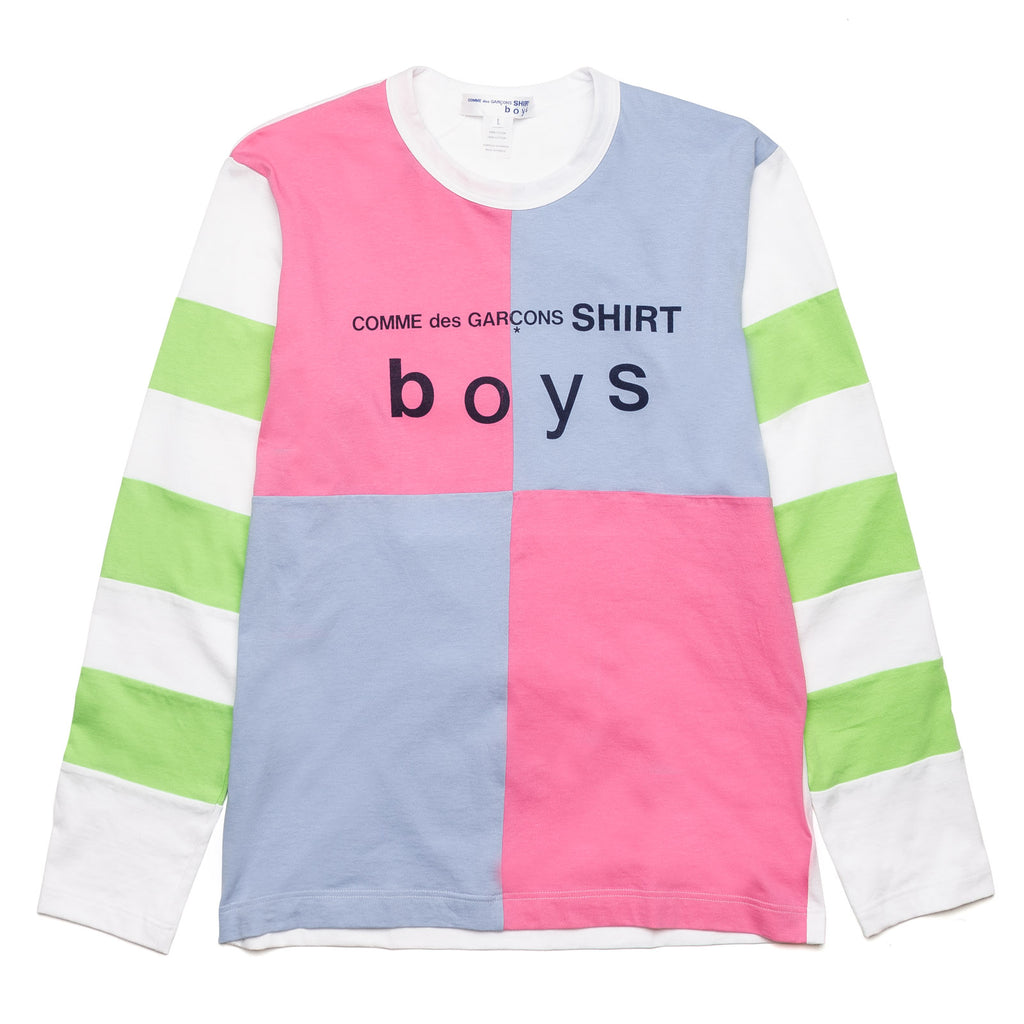 CDG Boys Color Blocking Tee S27930-1