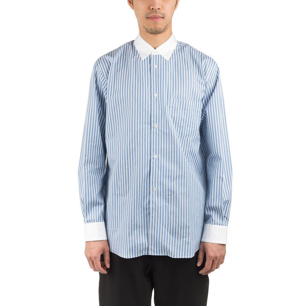 Striped Shirt S26071 Blue