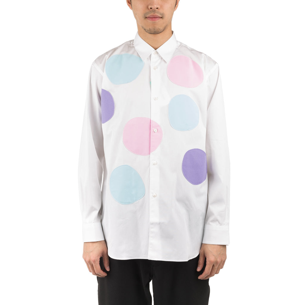 Spotted Shirt S26023 White