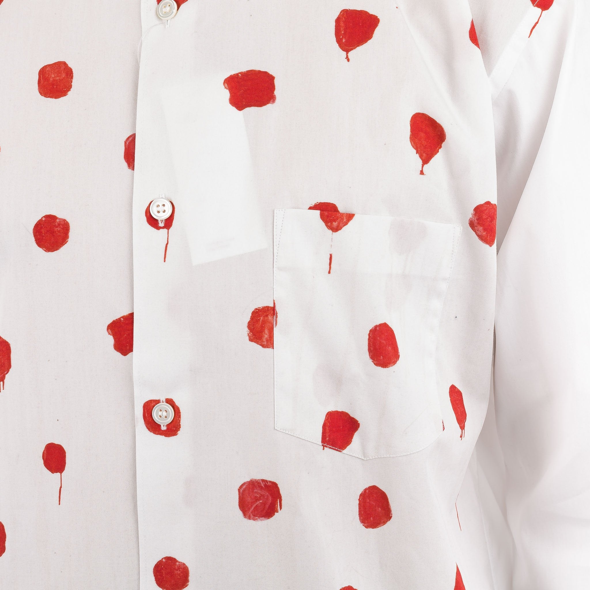 Polka-Dot Shirt S26047 Red