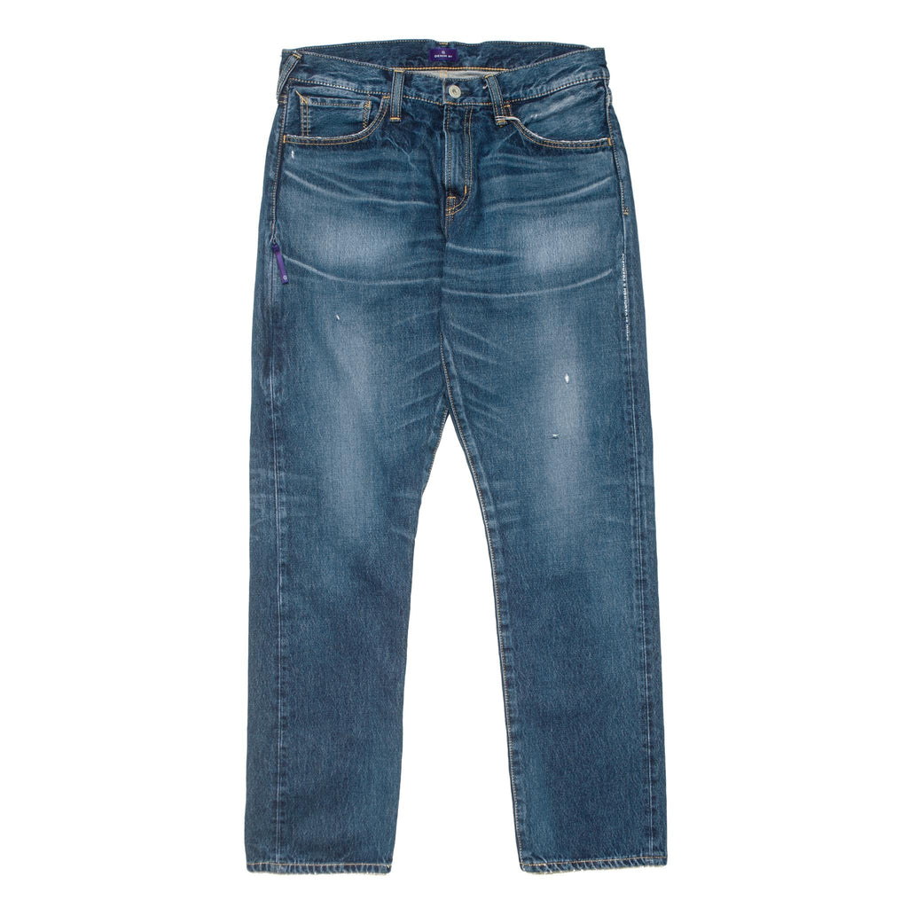 Wide Denim Stretch VFP1068 Washed