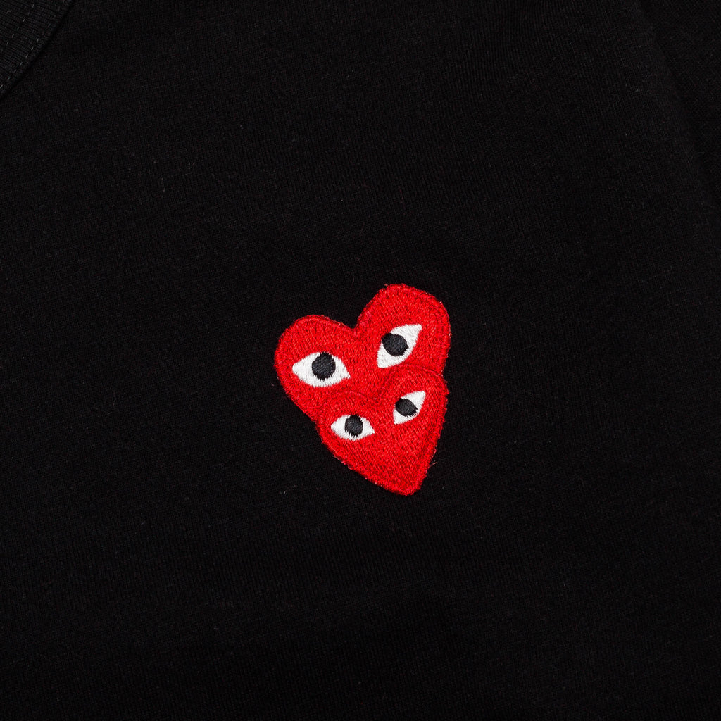Double Heart Logo S/S Tee AZ-T288-051-1 Black