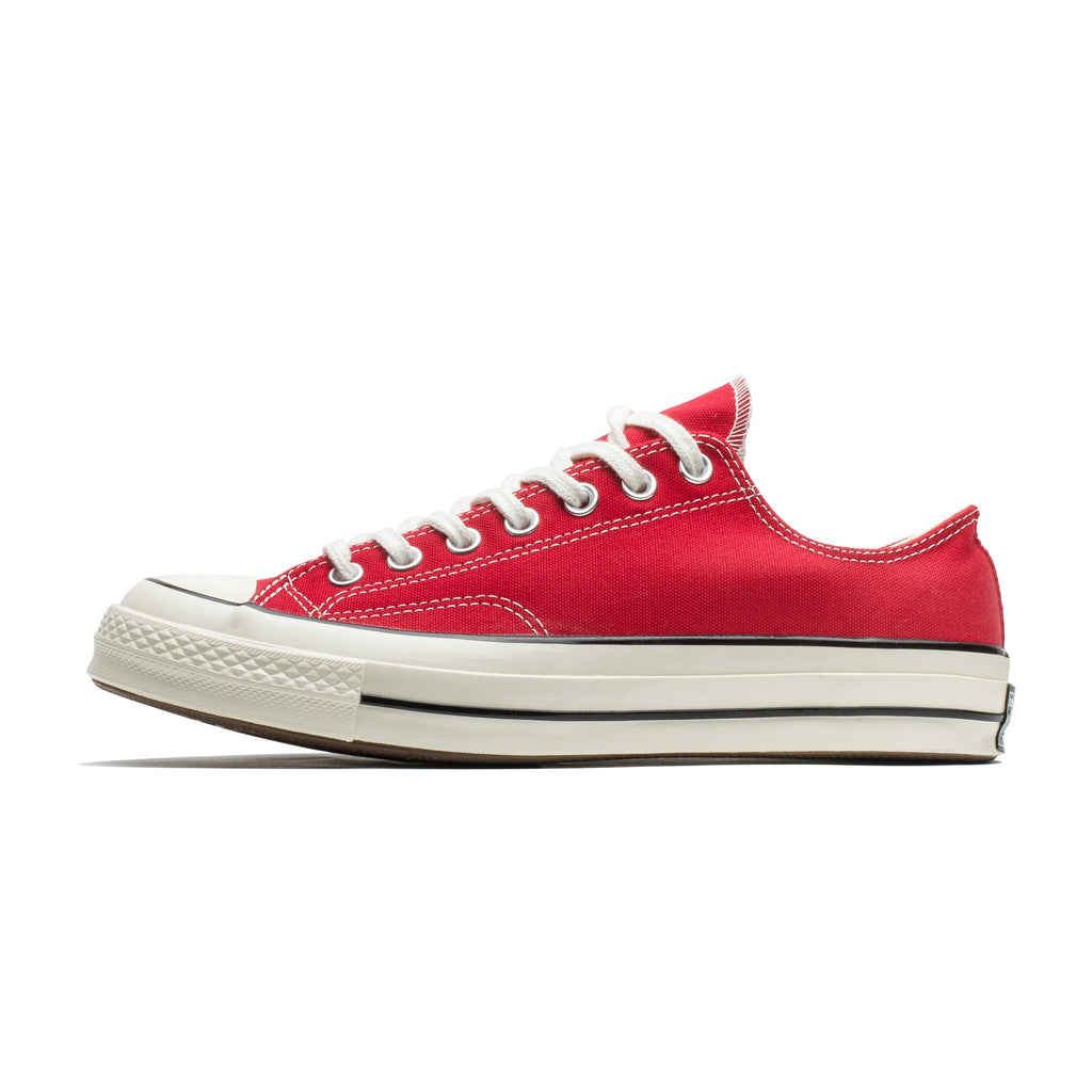 Chuck 70 OX 164949C Enamel Red/Egret/Black