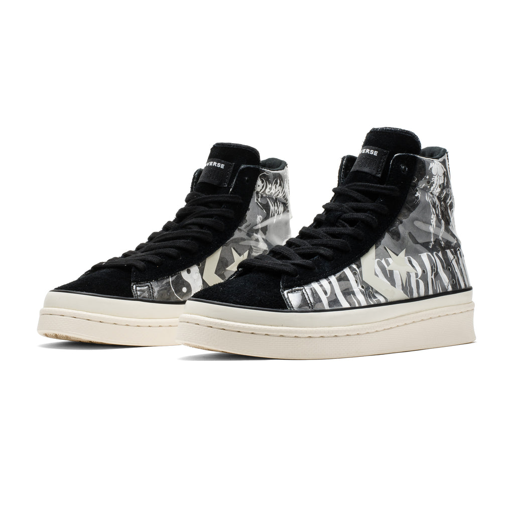 Converse x Pleasures Pro Leather Mid 165602C Black