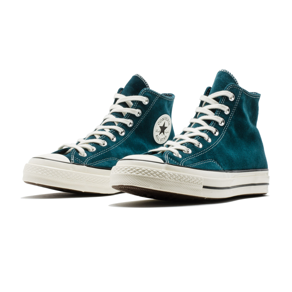 Chuck 70 HI 166214C Suede Turquoise