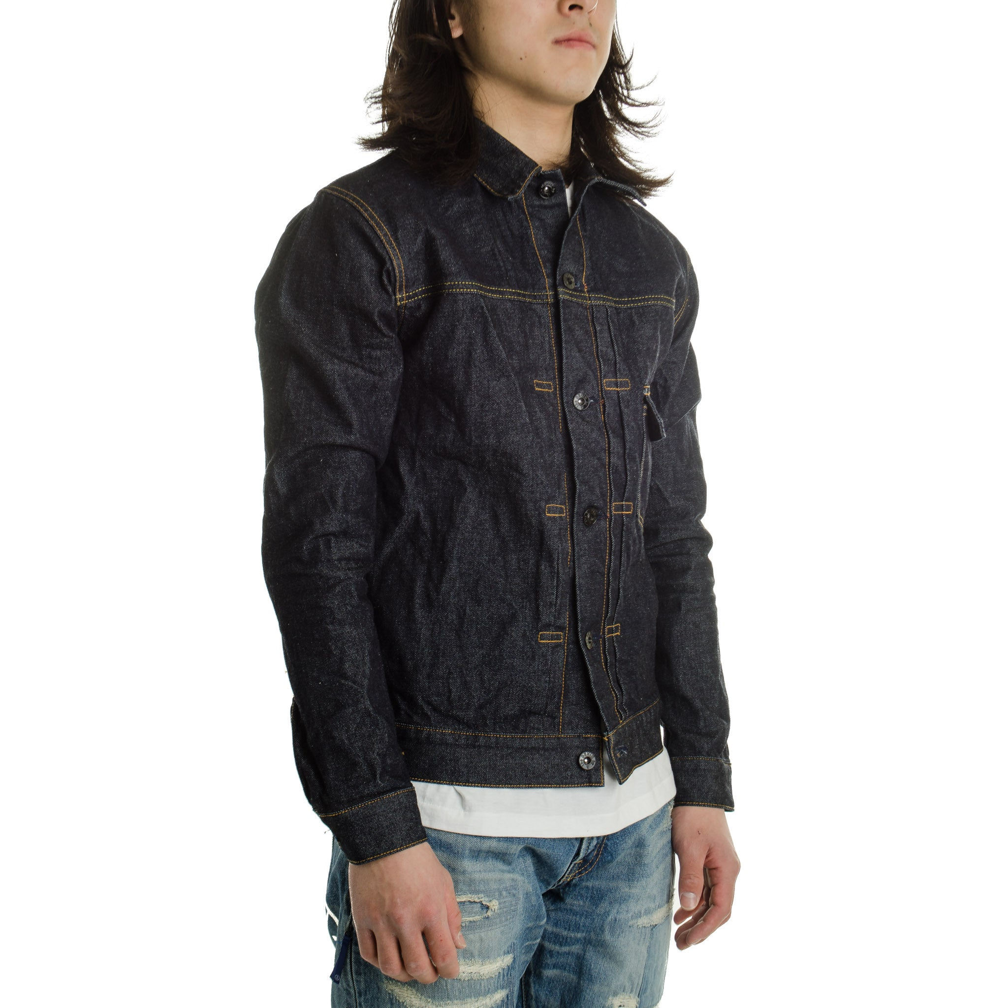 OW Denim Jacket One Wash