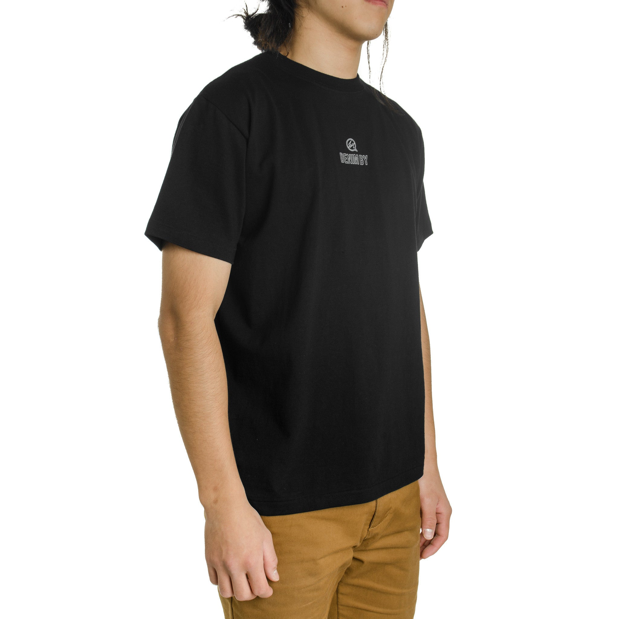 Small Logo Crew Neck Tee Black