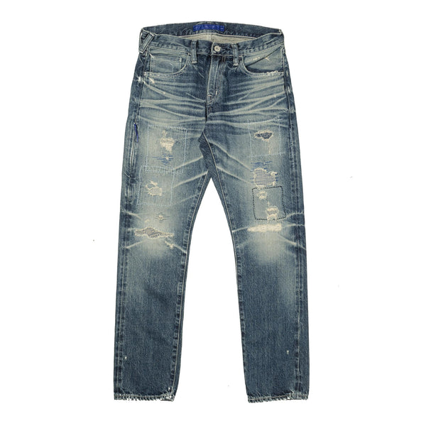 Remake Five Yrs Straight Denim Wash Indigo
