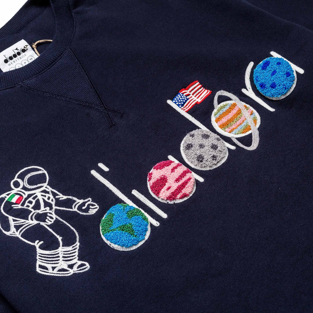 LC23 Spaceman Sweater Navy