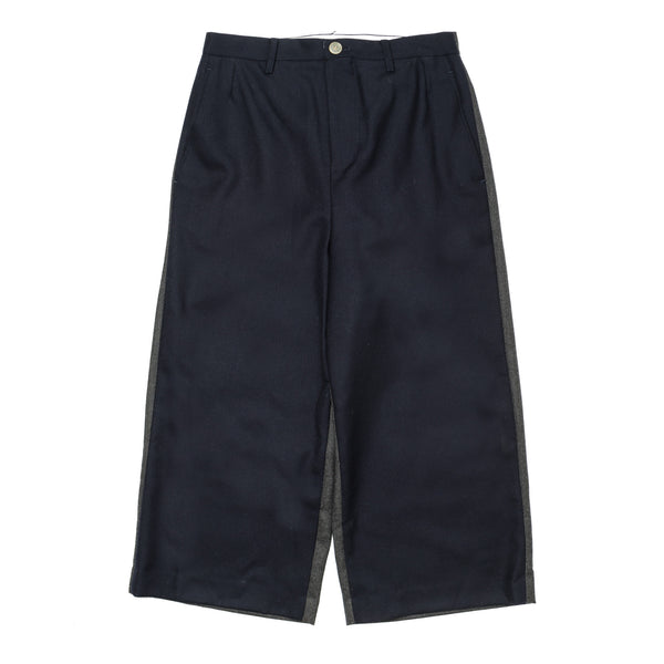 Color Switch Pants Navy Grey