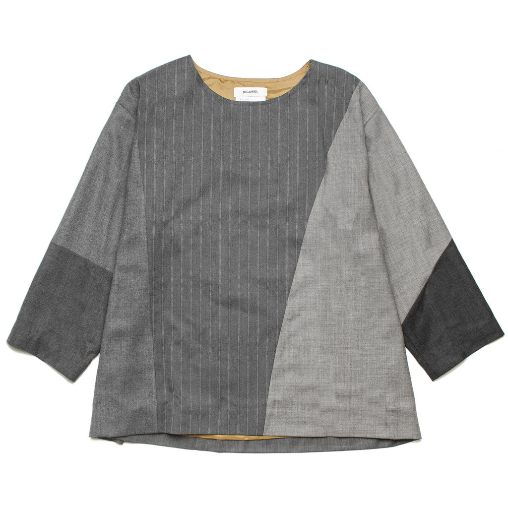 Mix Pullover DWROB004 Grey