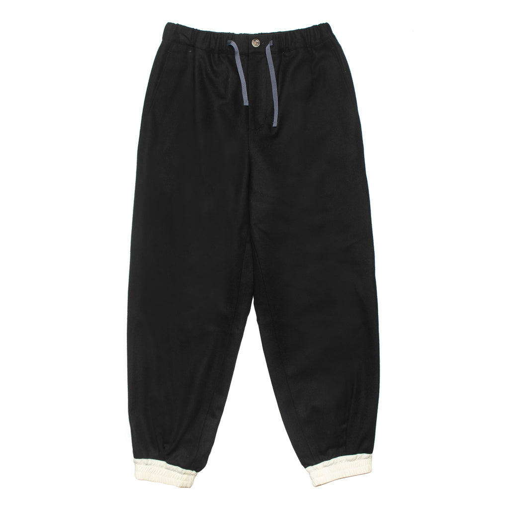 Wool Easy Pants DWROB020 Black