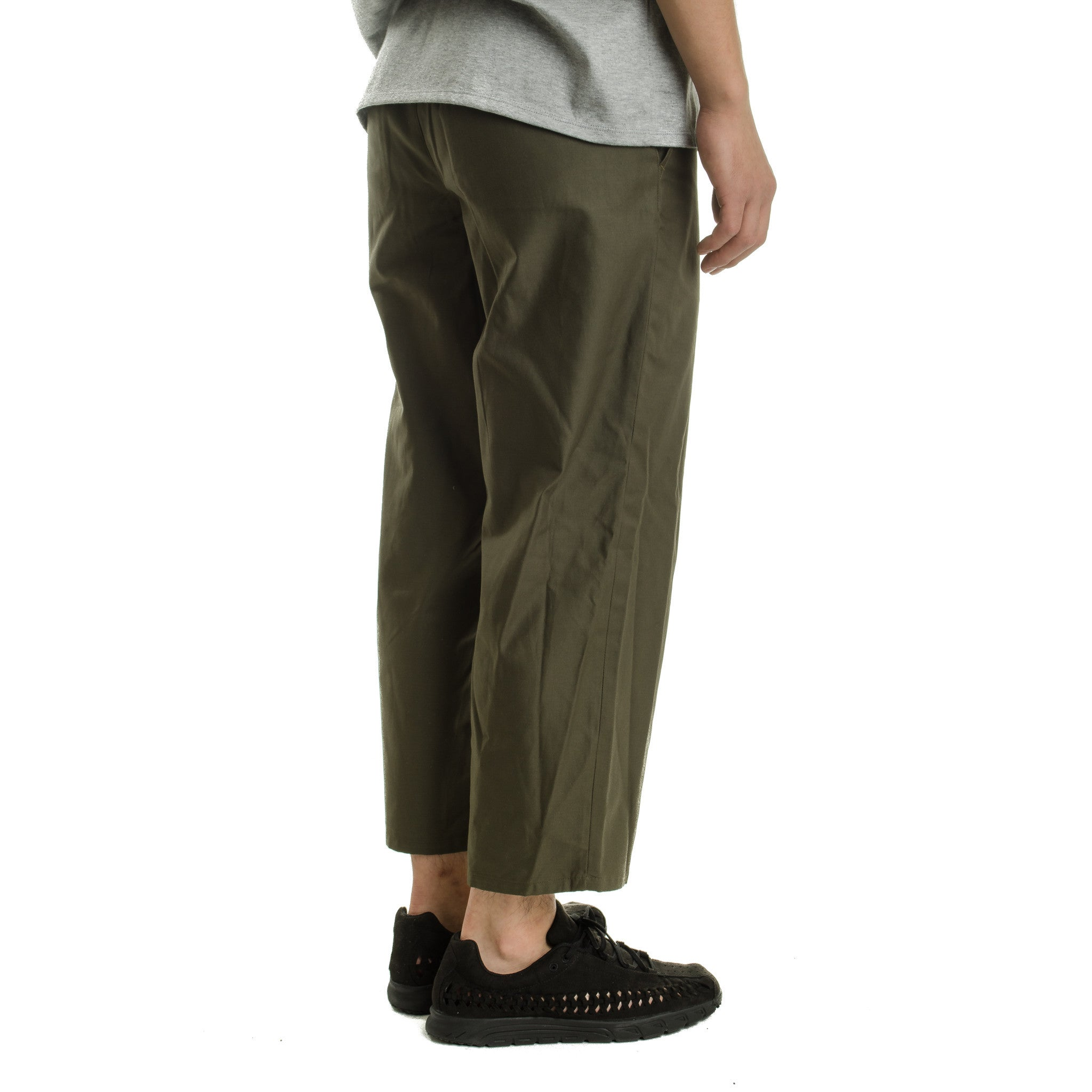 Straight Pants DWPOB076Y Olive