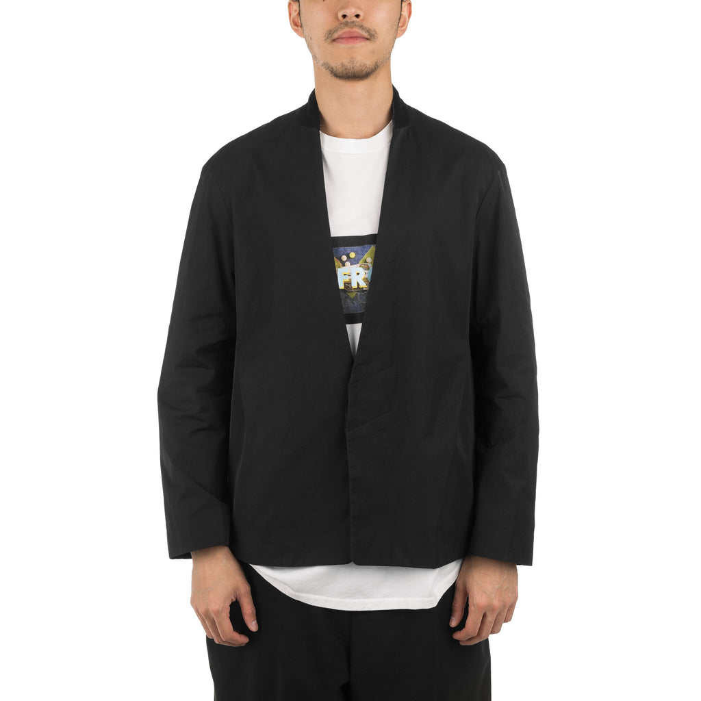 No Collar Jacket DWROA015 Black
