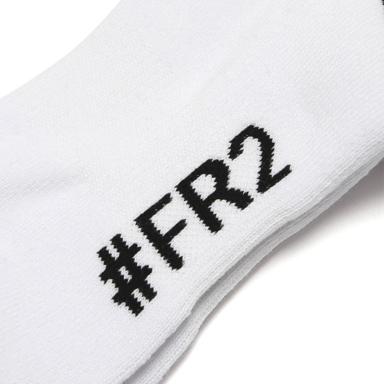 FR2 Caution Socks White