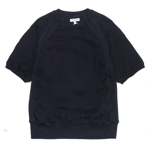 Short Sleeve Crew Solid Jersey Navy