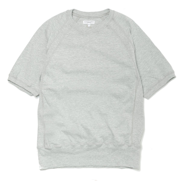 Short Sleeve Crew Solid Jersey Grey