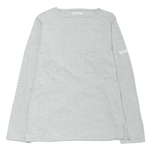 Bask Shirt Solid Jersey Grey