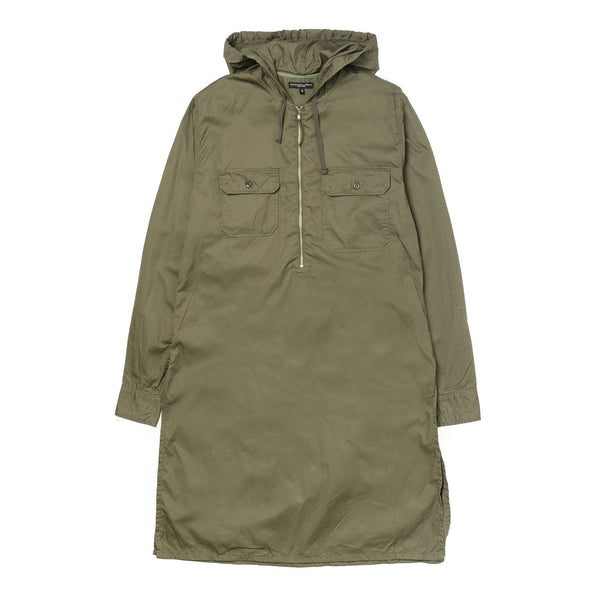 Long Bush Shirt Olive French Twill