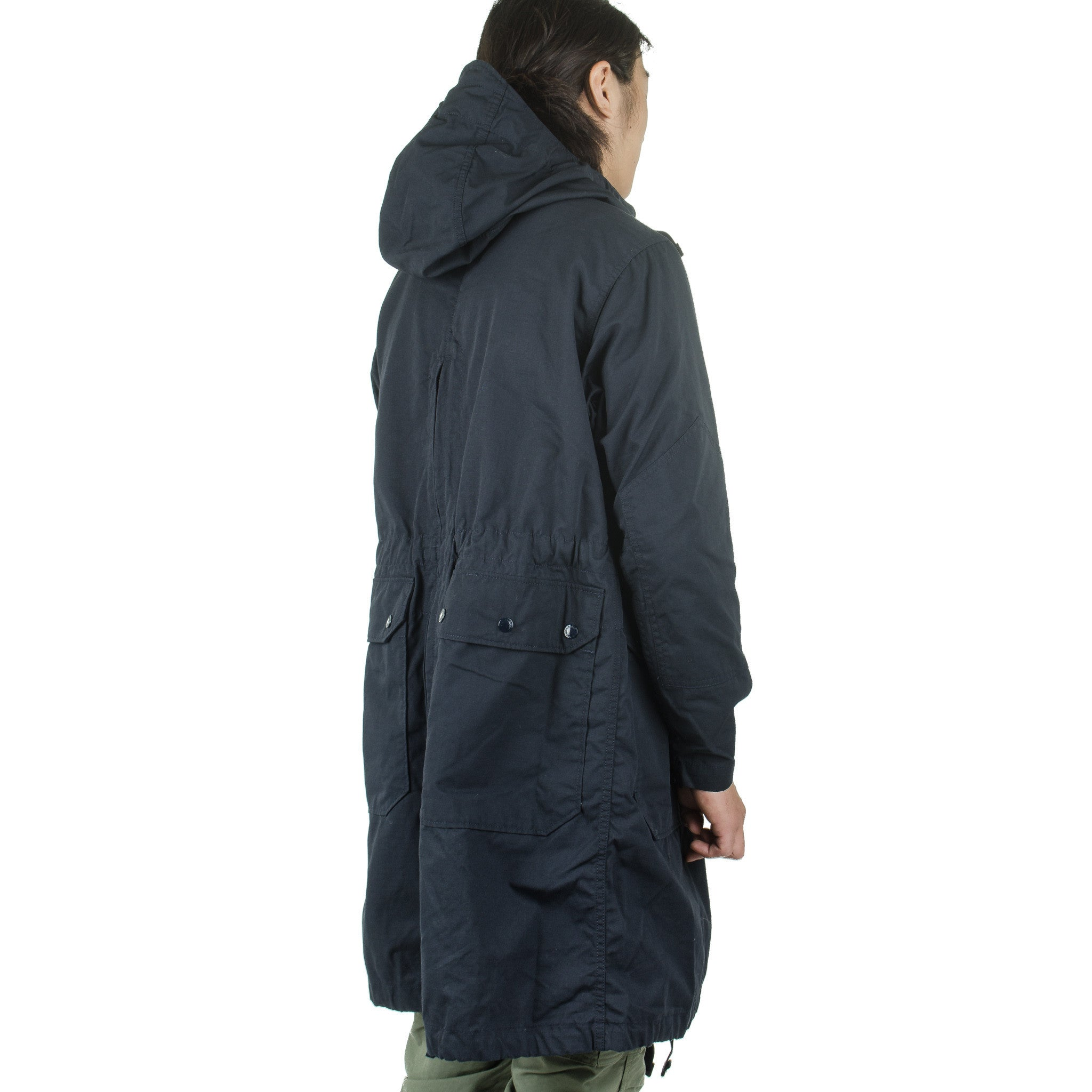 Over Parka Nyco Ripstop Navy