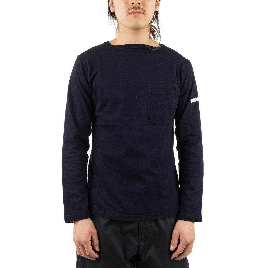 Bask Shirt Solid Jersey Dark Navy