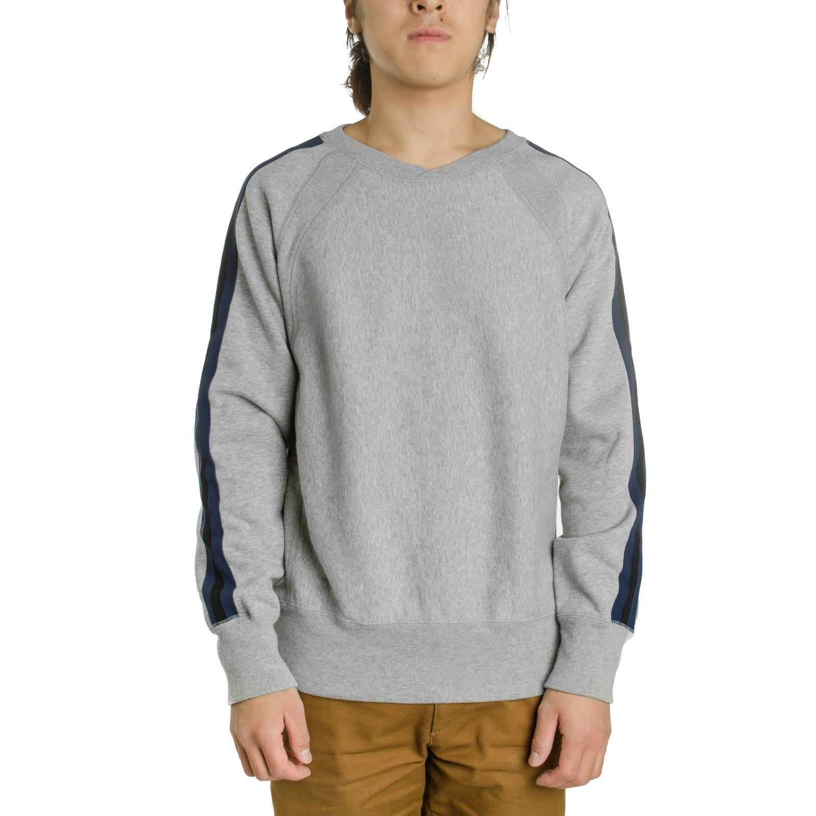 Crew Neck Sweat Grey CP Fleece
