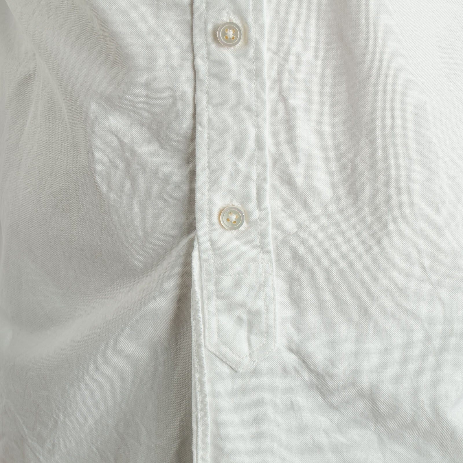 19 Century BD Shirt White Cotton Oxford