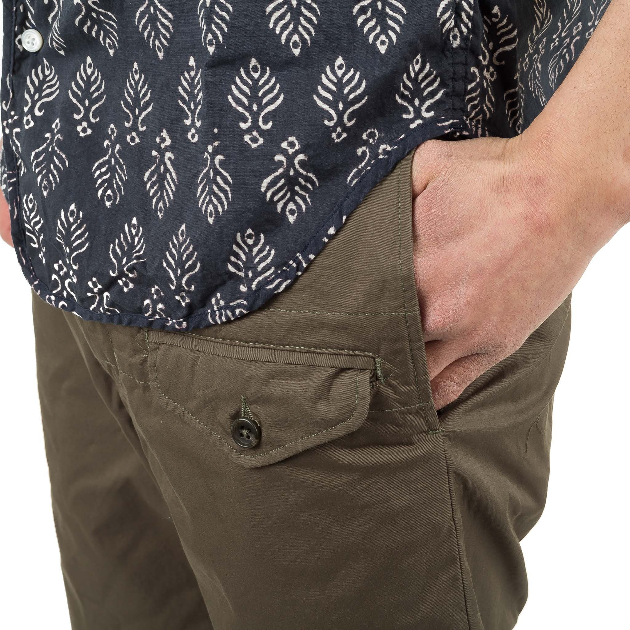 Ghurka Short S7E0278 Olive High Count Twill
