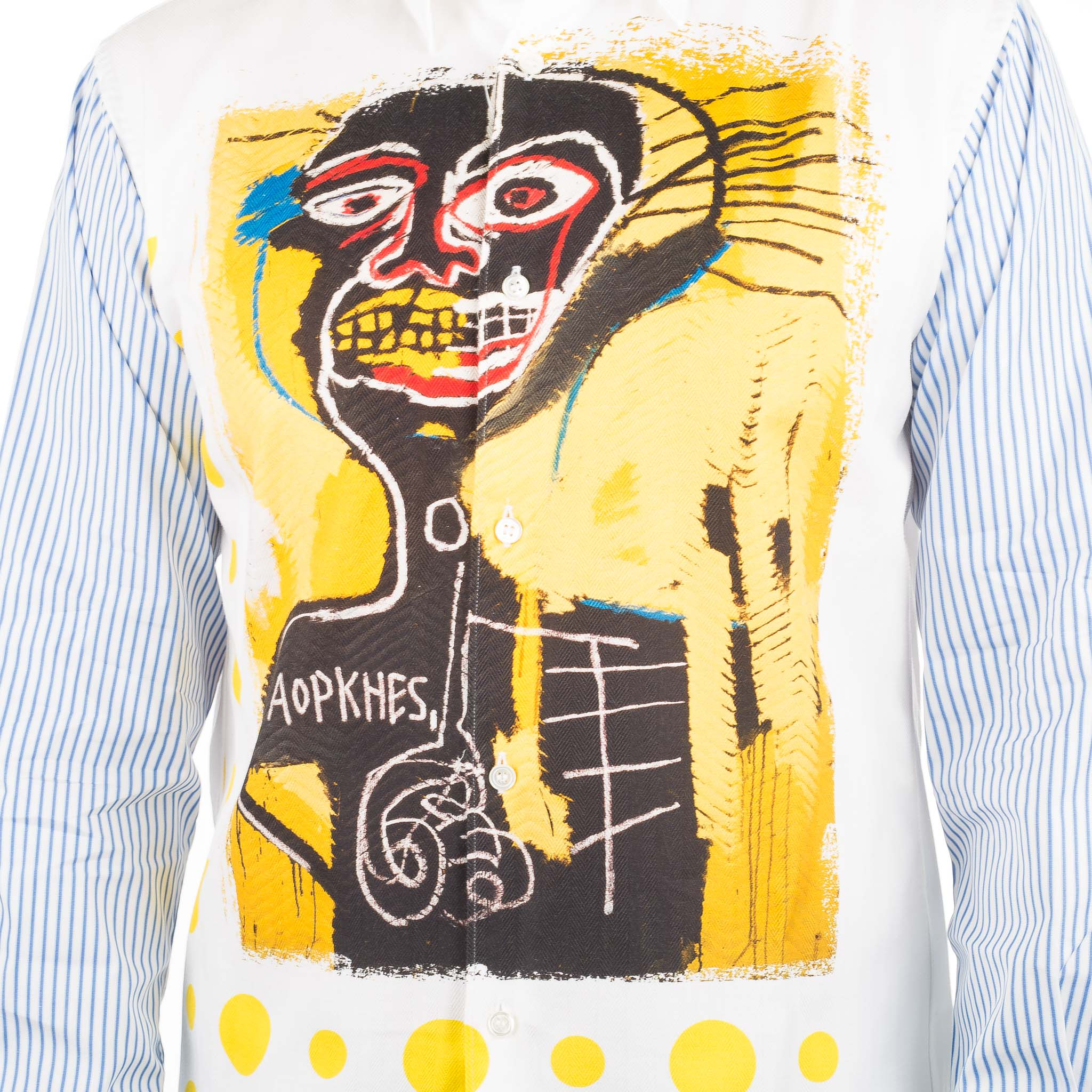 CDG Shirt x Basquiat Shirt 4 W26046