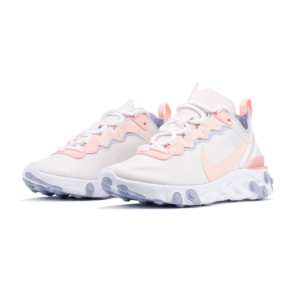Wmns React Element 55 BQ2728-601 Pale Pink