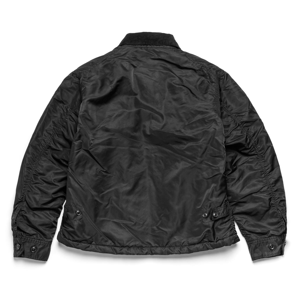 EG Driver Jacket 20F1D009 Black Flight Satin Nylon