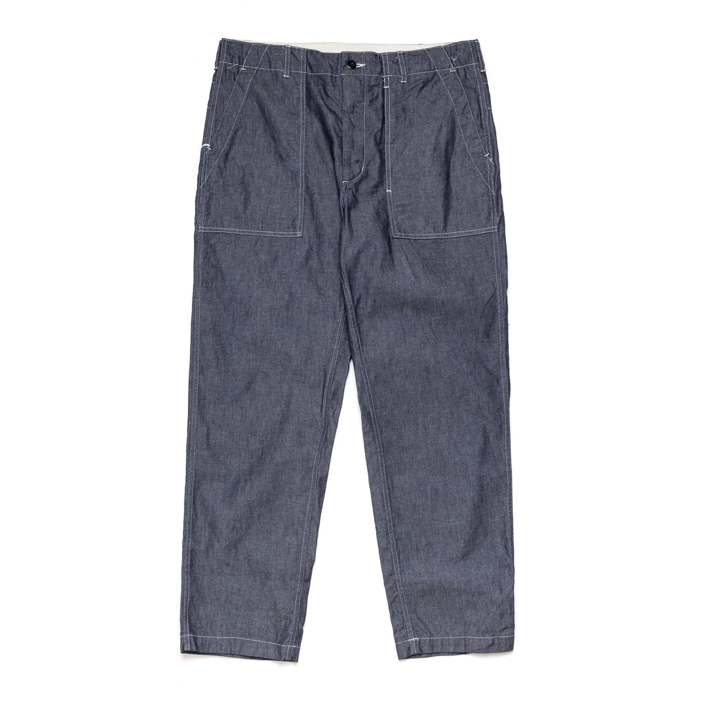 Fatigue Pant 21S1F004-NL044 8oz Cone Denim Indigo