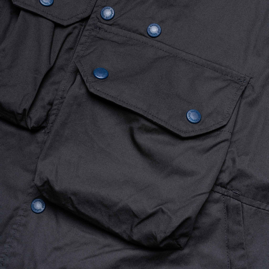 Cover Vest 21S1C003 Navy Highcount Twill