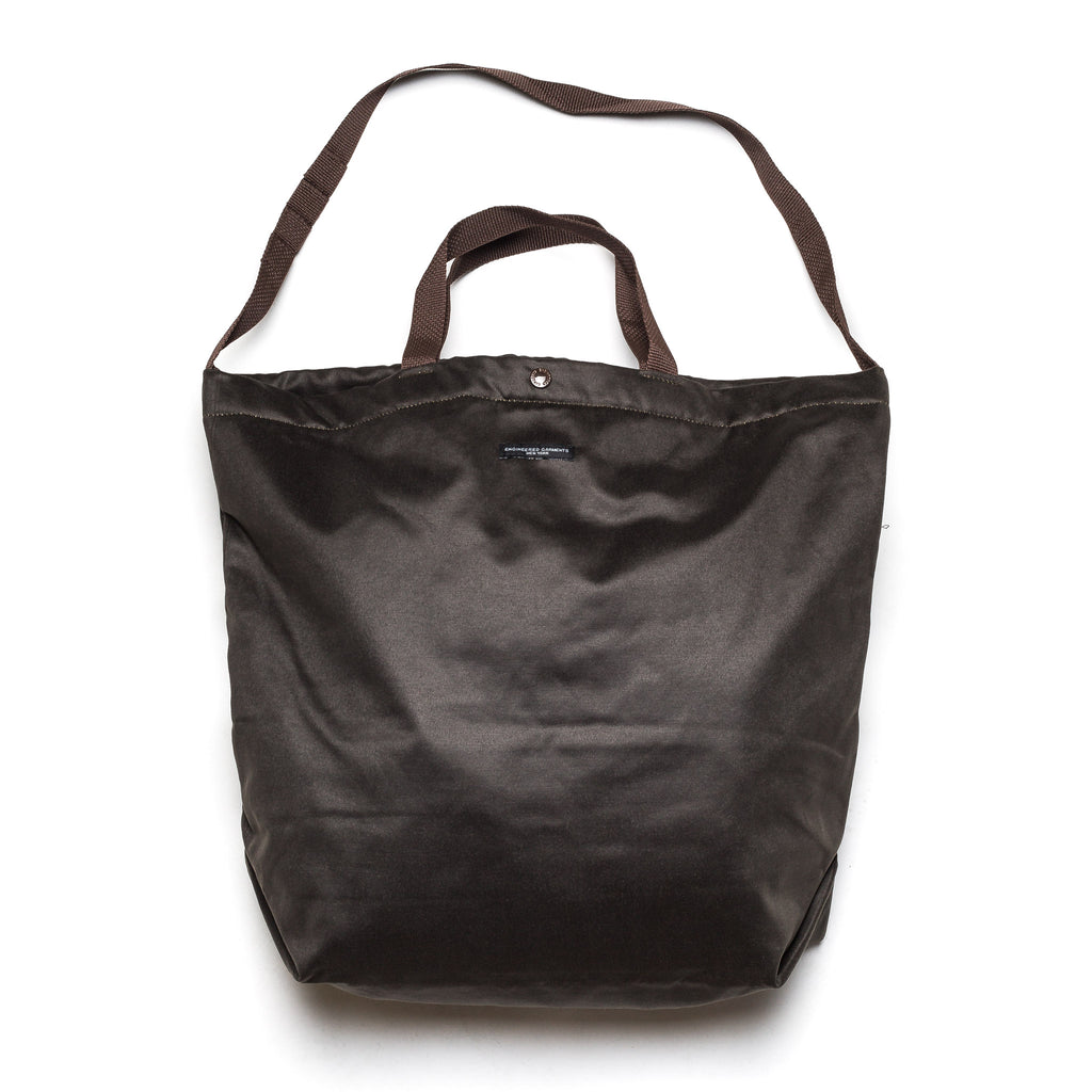 Carry All Tote Coated Twill 20F1H015 Dark Olive