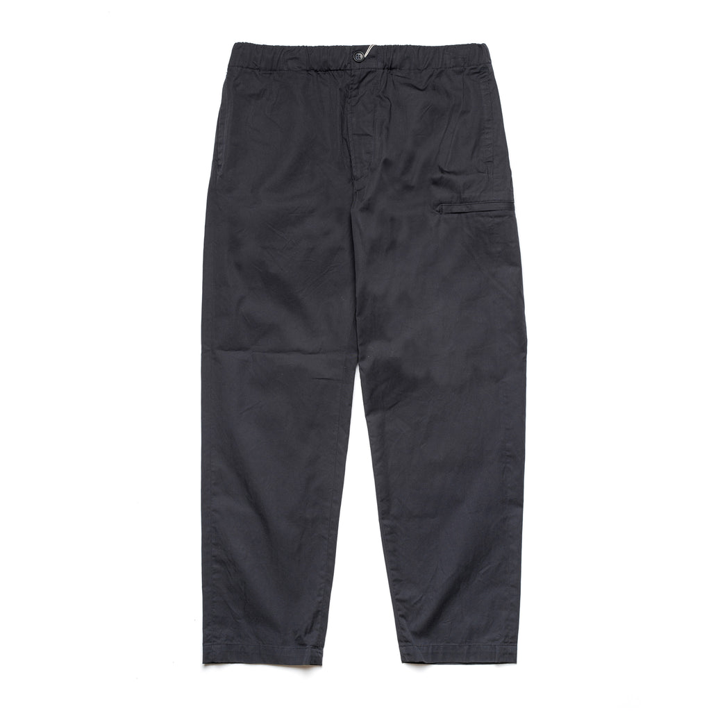 Drawstring Pants 21S1F021 Navy Highcount Twill