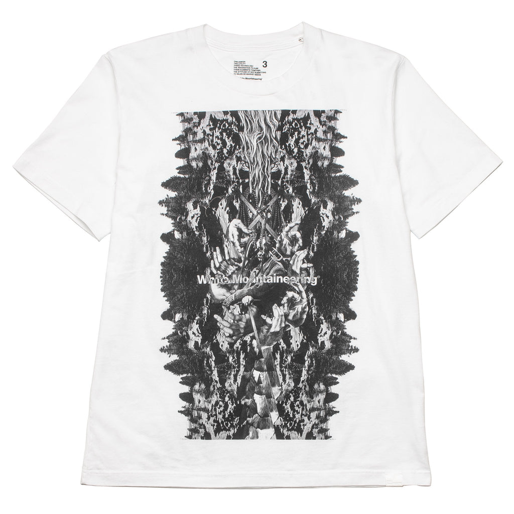Forest Collage Tee WM1873503 White