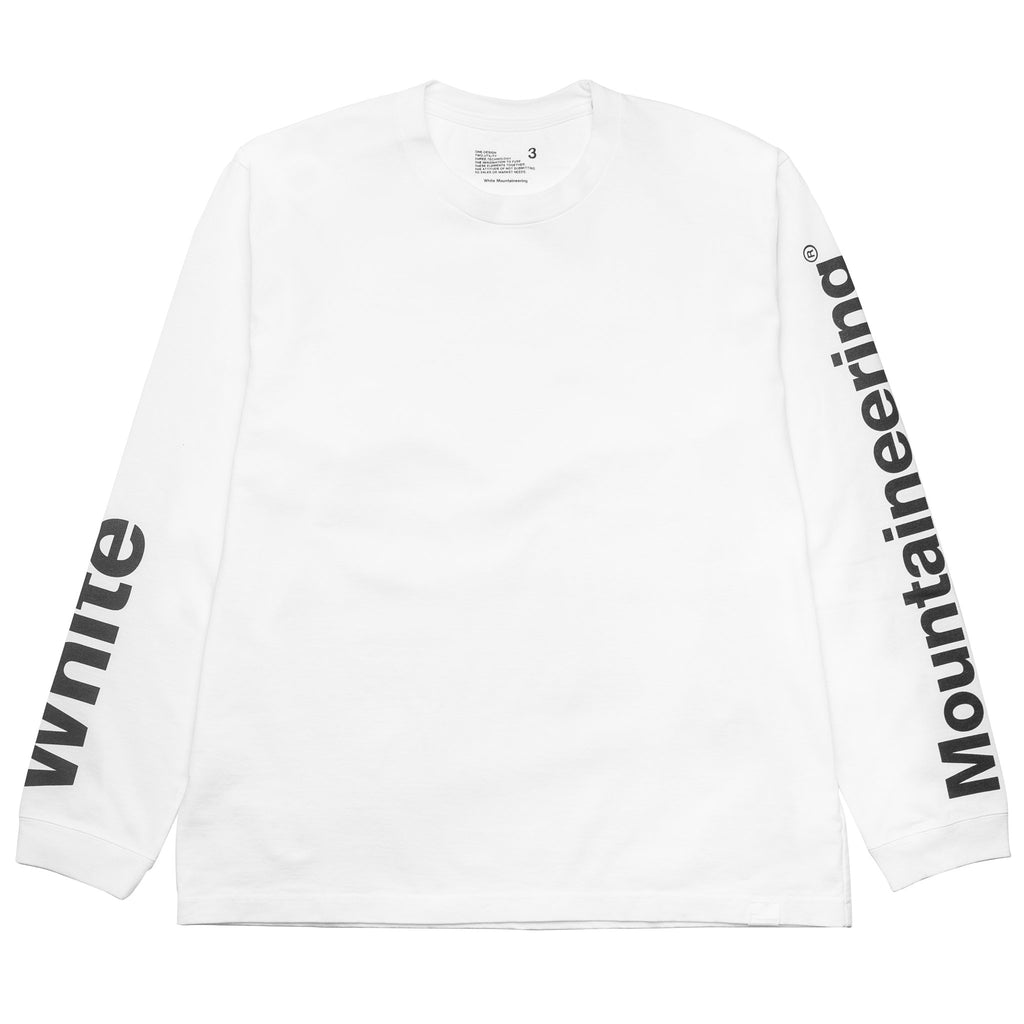 Logo Printed Sleeve Sweater WM1873514 White