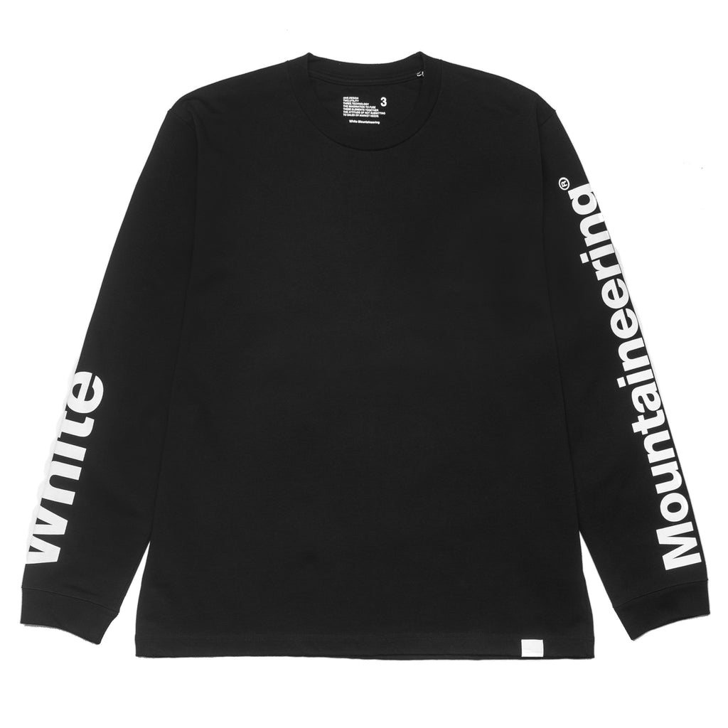 Logo Printed Sleeve Sweater WM1873514 Black