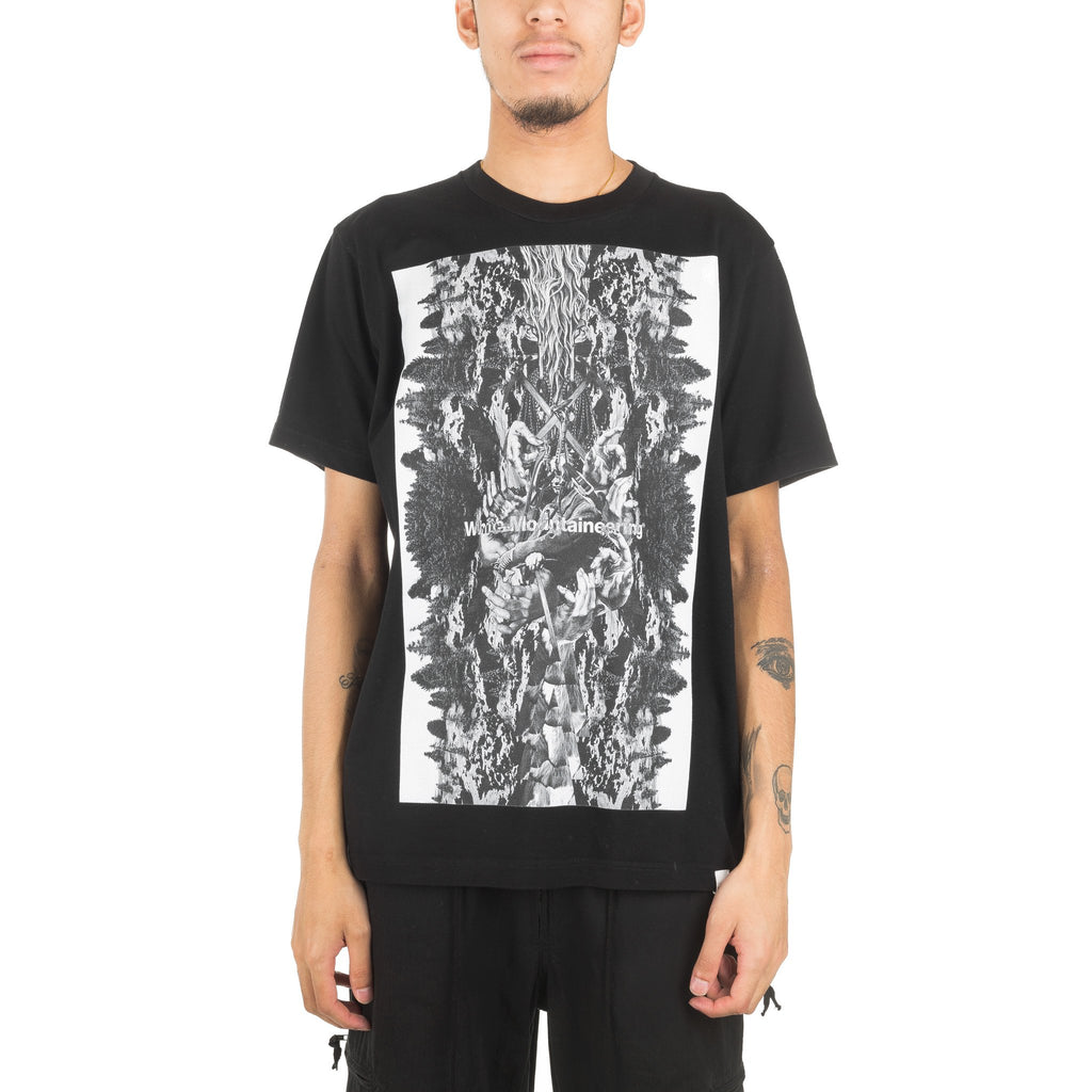 Forest Collage Tee WM1873503 Black
