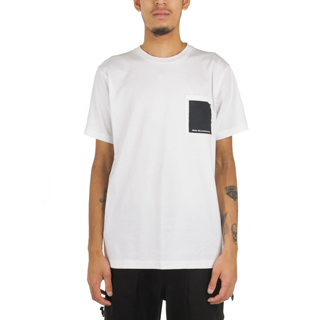 Logo Printed Pocket Tee WM1873502 White