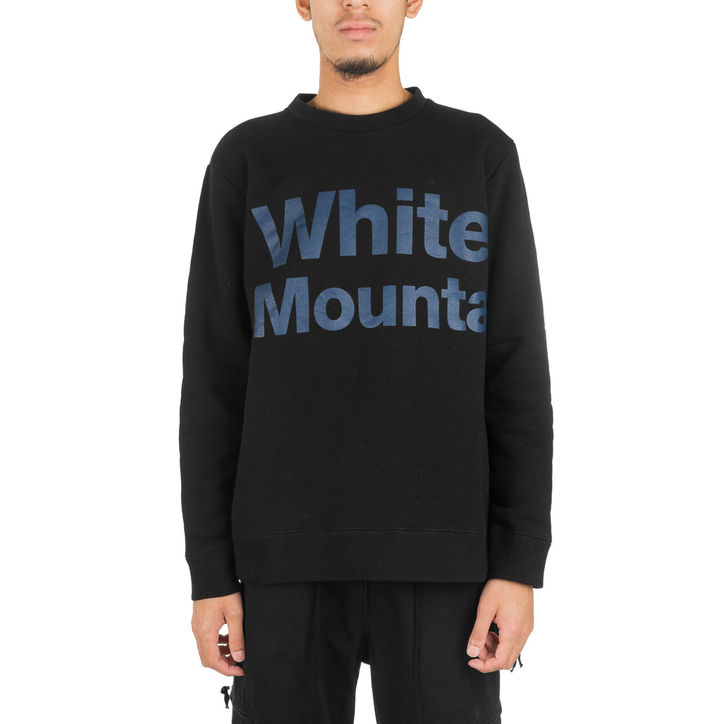 Logo Printed Sweater WM1873521Black