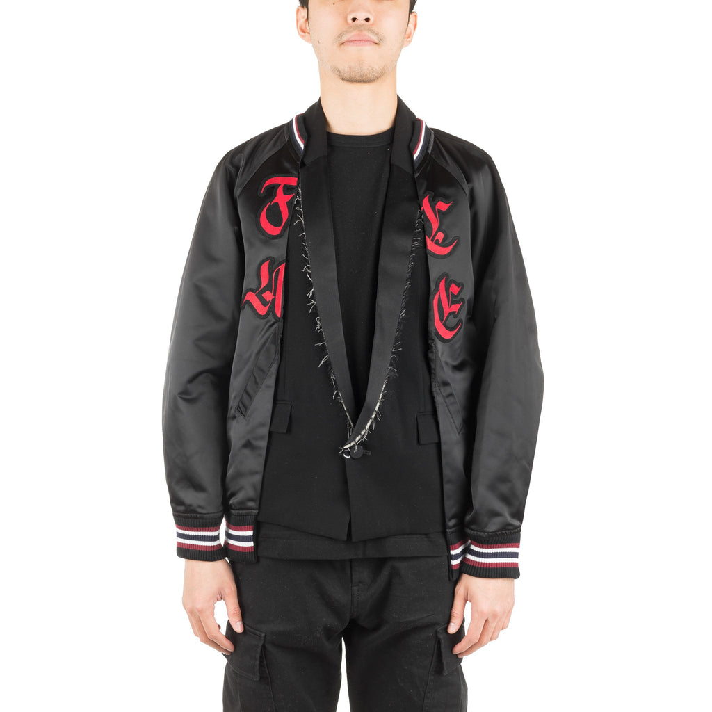 Facetasm Woven Jacket RBJKM07 Black