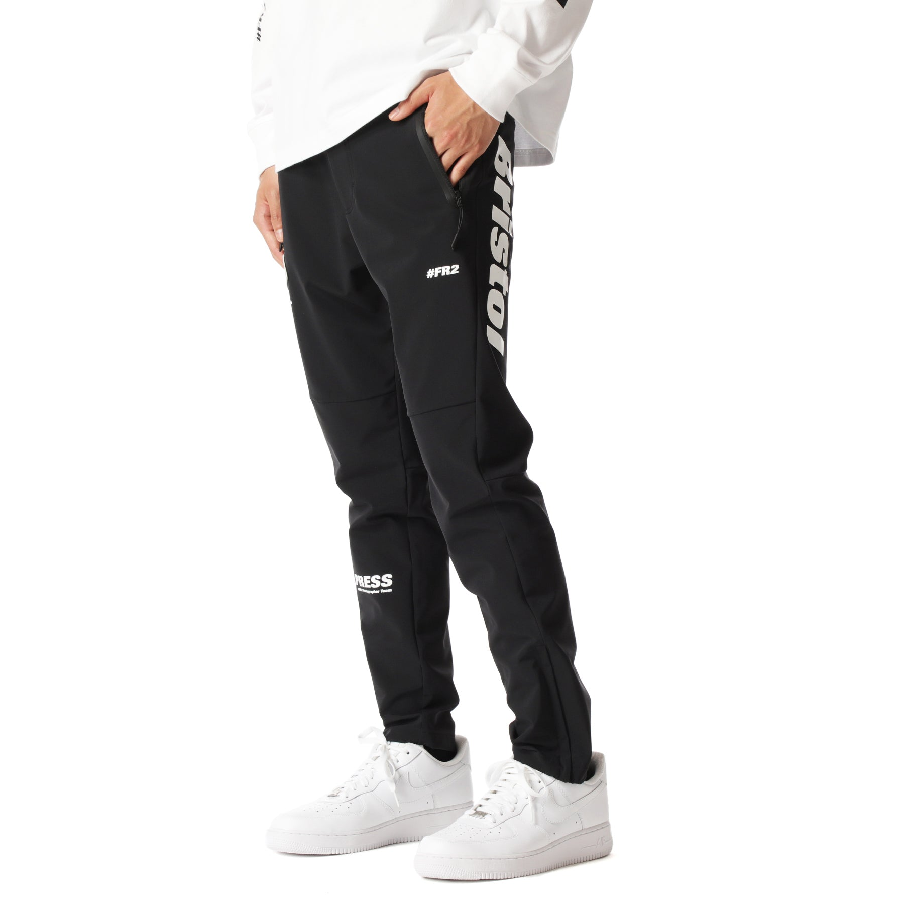 x FCRB Warm Up Pants FRP099 Black