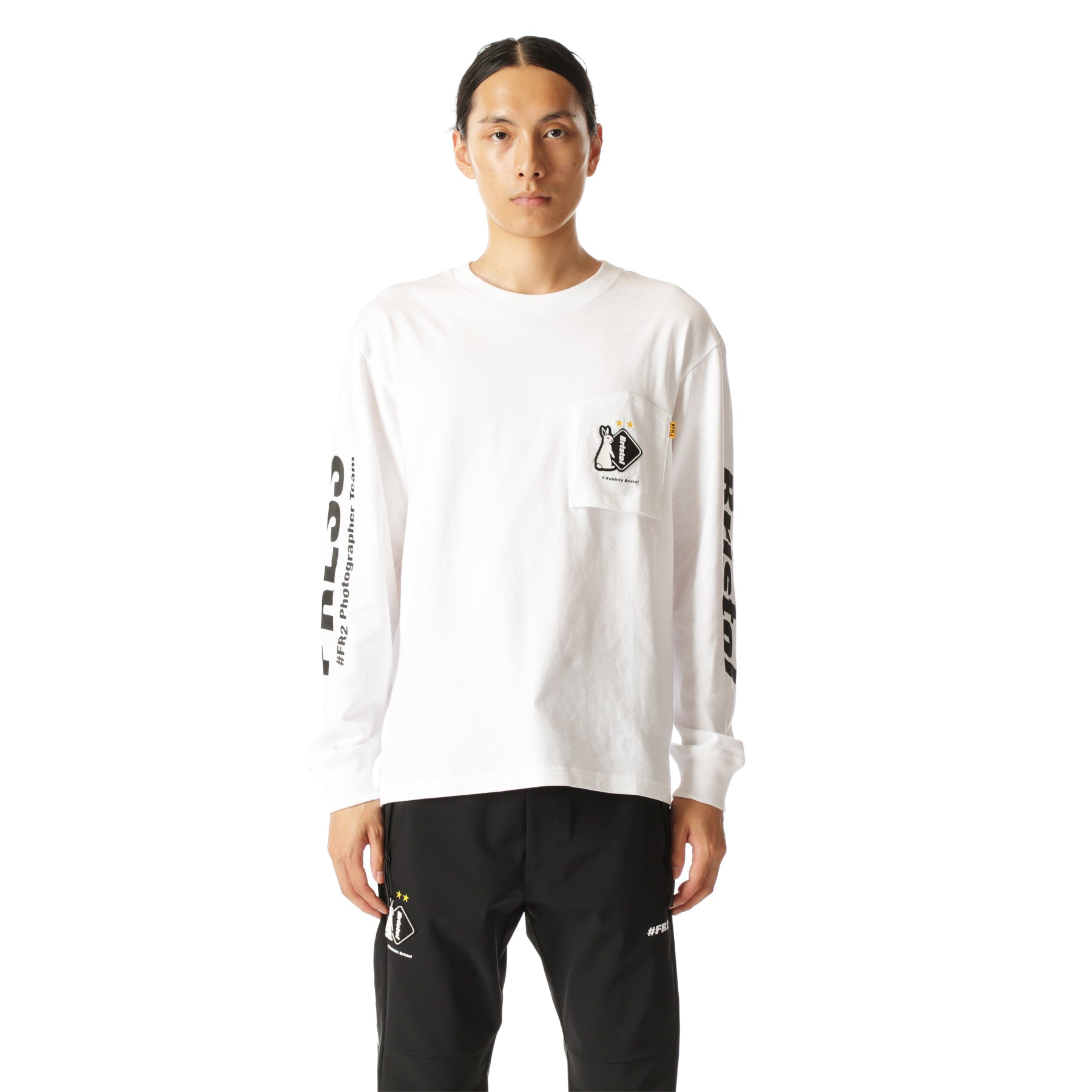 x FCRB L/S Tee FRC1111 White