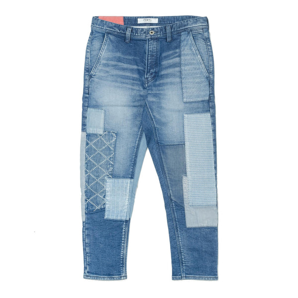 Cropped Boro Stretch Denim 3YR