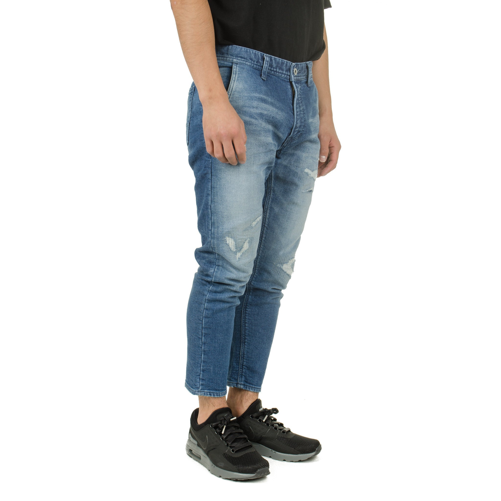 Cropped Stretch Denim CS19
