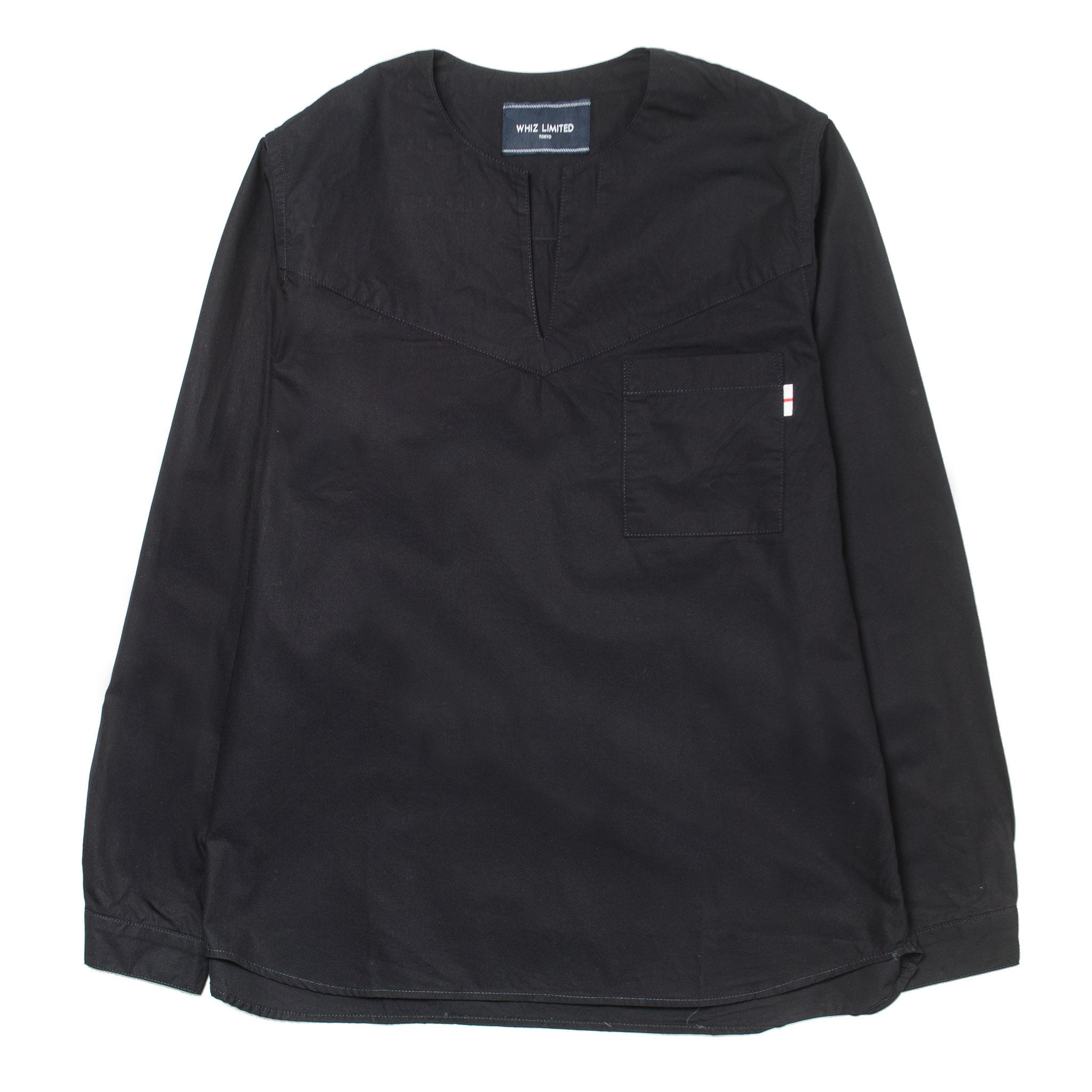 Cut Shirt WL-S-11 Black