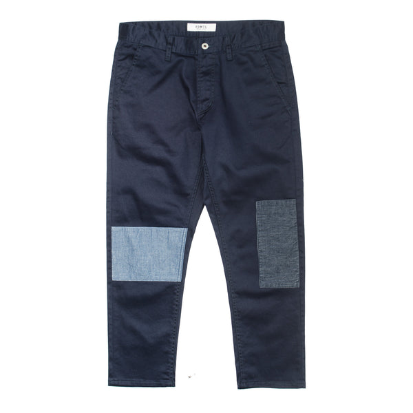 Cropped Patch Pants PN13R Navy