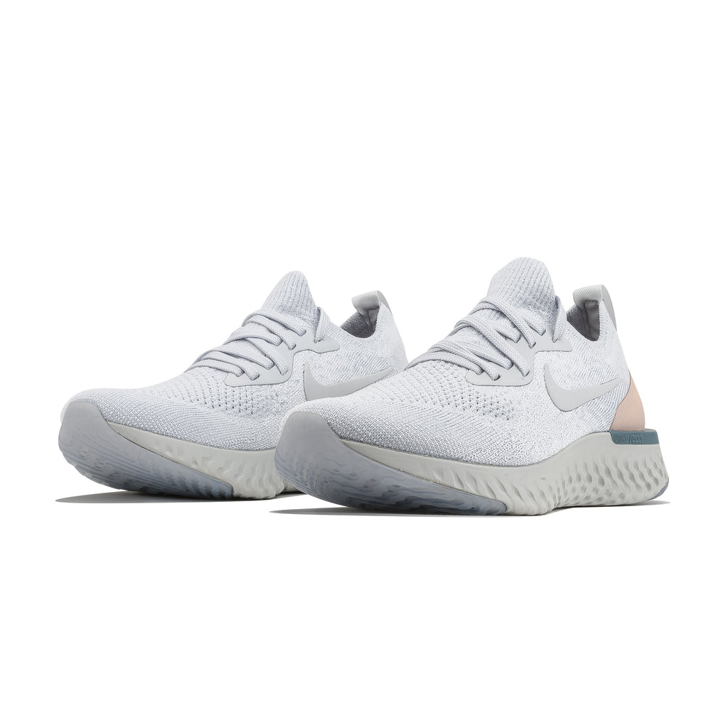 Wmns Epic React Flyknit AQ0070-014 Pure Platinum